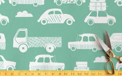 Minted: Runner Up Child's play fabric challenge
