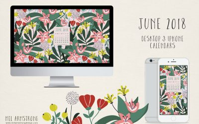 June 2018 Free Desktop Calendar Download