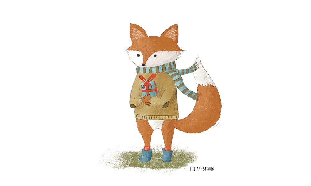 Learn to Use Procreate: Design and Illustrate a Bear (Fox) Character