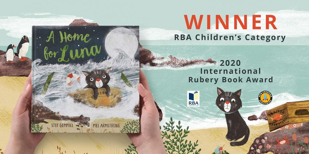 Winner Children's Category – 2020 International Rubery Book Award