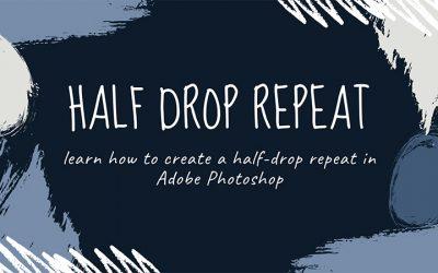 Create a Half Drop Repeat in Photoshop